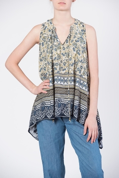 annabelle Print Tie Top - Product List Image