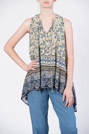 annabelle Print Tie Top - Front cropped