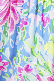 Lilly Pulitzer  Annalee Dress Blue Bunny Business - Side cropped