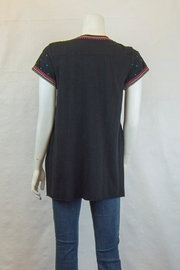 Johnny Was Annalise Drape Top - Front full body