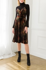 Mystree Annamarie Velvet Dress - Product Mini Image