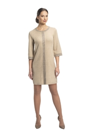 Biana Anne 1/2 sleeve Knit Dress - Front cropped