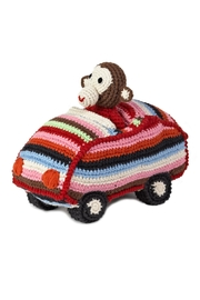 anne-claire petit Animal Car Chimp - Front cropped