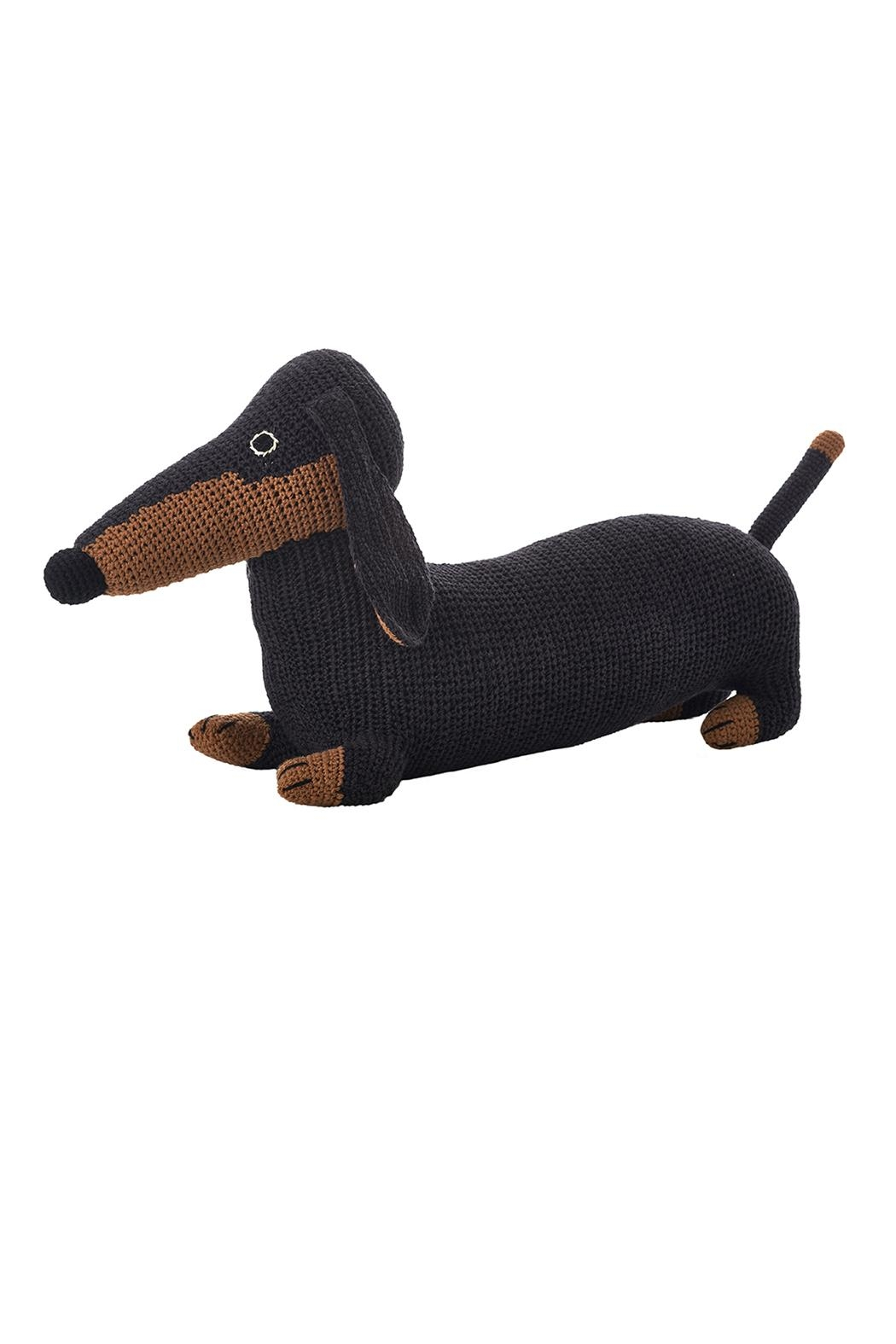 anne-claire petit Black & Tan Mama-Dachshund - Front Cropped Image