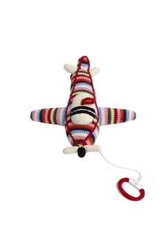 anne-claire petit Multi-Stripe Airplane Music-Box - Product List Image