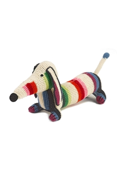 Shoptiques Product: Multi Stripe Dachshund