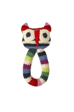Shoptiques Product: Owl Ring Rattle Toy