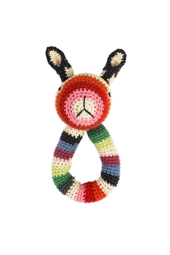 Shoptiques Product: Rabbit Ring Rattle Toy