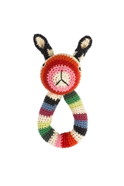 anne-claire petit Rabbit Ring Rattle Toy - Front cropped