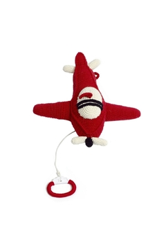 Shoptiques Product: Red Airplane Music-Box