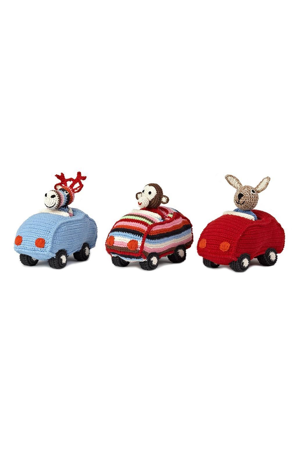 anne-claire petit Red Animal Car Bunny - Front Full Image