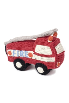 Shoptiques Product: Red Rattle Fire-Engine