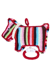 anne-claire petit Stripy Dog Music Box - Front cropped