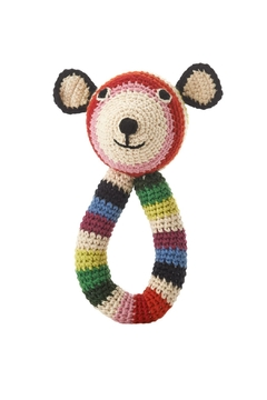 Shoptiques Product: Teddy-Ring Rattle Toy