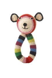 anne-claire petit Teddy-Ring Rattle Toy - Front cropped