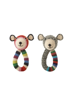 anne-claire petit Teddy-Ring Rattle Toy - Alternate List Image