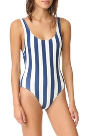 Solid & Striped Anne-Marie Navy One-Piece - Product Mini Image