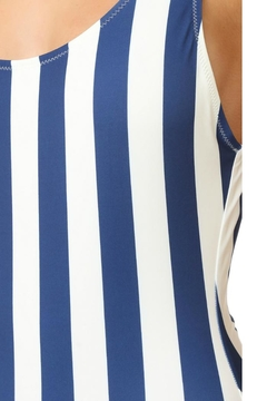 Solid & Striped Anne-Marie Navy One-Piece - Alternate List Image