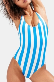 Solid & Striped Anne-Marie Sea Stripe - Back cropped