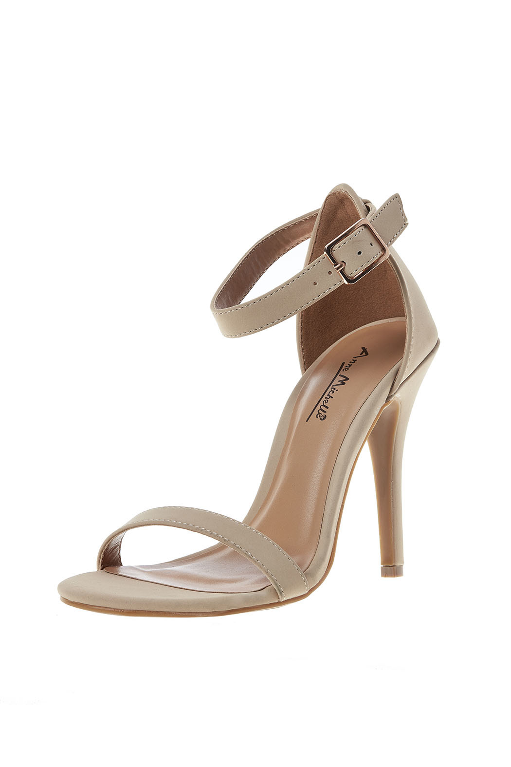 anne michelle Two Strap Heel - Back Cropped Image