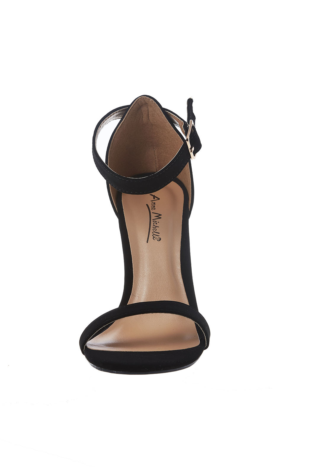 anne michelle Two Strap Heel - Side Cropped Image
