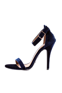 Shoptiques Product: Girl Talk Velvet Sandals