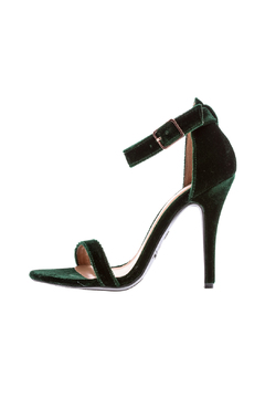 Shoptiques Product: Green Velvet Heel