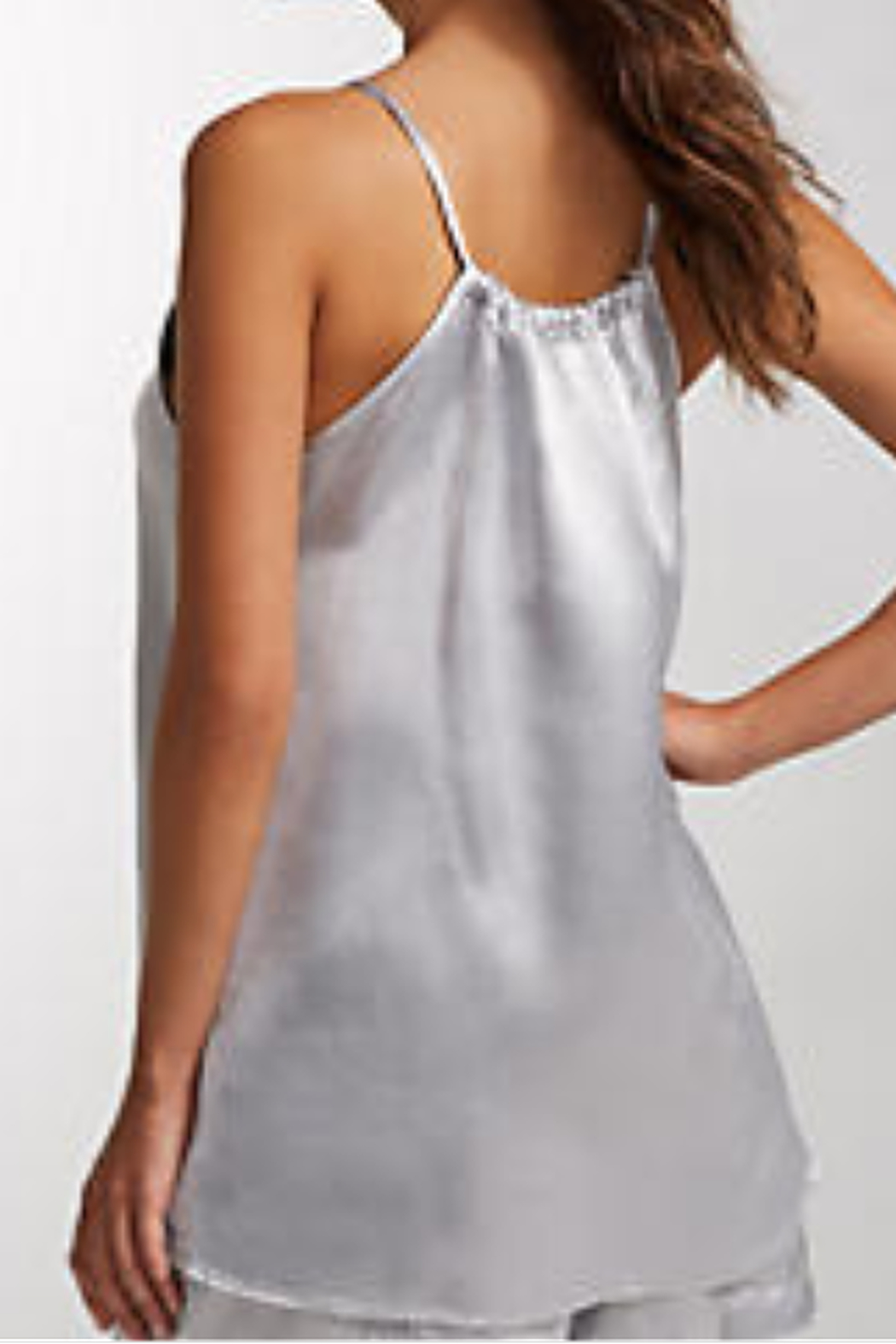 The Birds Nest ANNE SATIN TANK/CAMISOLE - Front Full Image