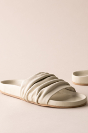 Huma Blanco Anne Slide - Front cropped
