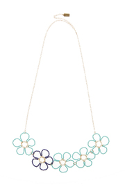 Anne Woodman Blues Flower Necklace - Product Mini Image