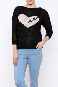 Shoptiques Product: Broken Heart Pullover