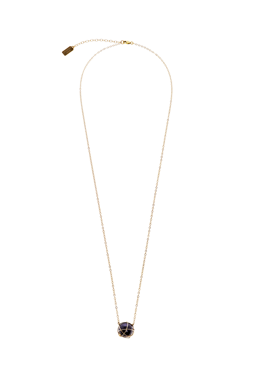 Anne Woodman Midnight Pearl Necklace - Main Image