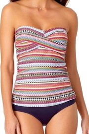 Anne Cole Ac Bandeau Tankini Top - Front cropped
