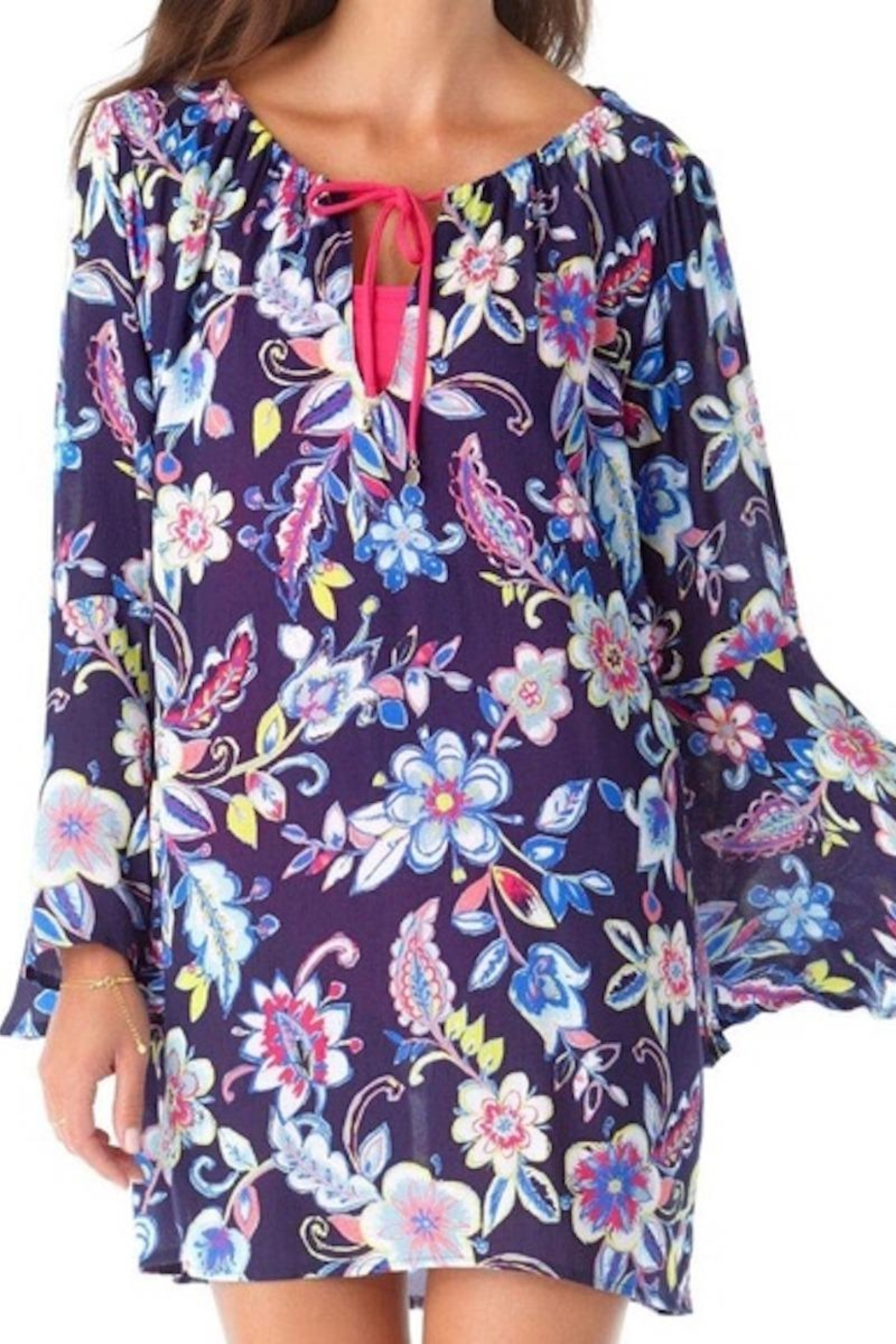 Anne Cole Ac Bell Sleeve Tunic - Main Image