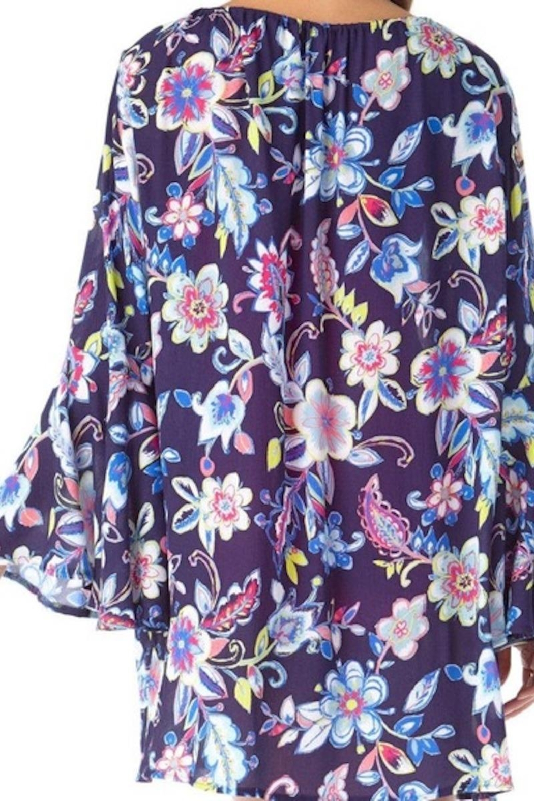 Anne Cole Ac Bell Sleeve Tunic - Side Cropped Image