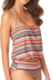 Anne Cole Ac Blouson One-Piece - Front full body