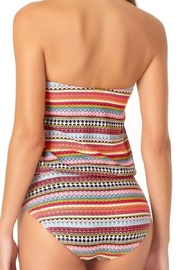 Anne Cole Ac Blouson One-Piece - Back cropped