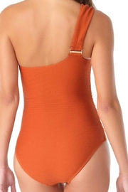 Anne Cole Ac One Shoulder - Front full body