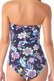 Anne Cole Ac Twist One-Piece - Front full body
