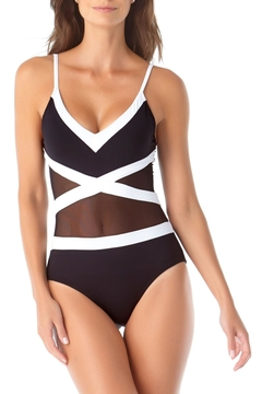 Anne Cole Hot Mesh One-Piece - Product List Image