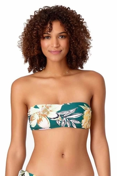 Anne Cole Tropical Bliss Bandeau - Product List Image