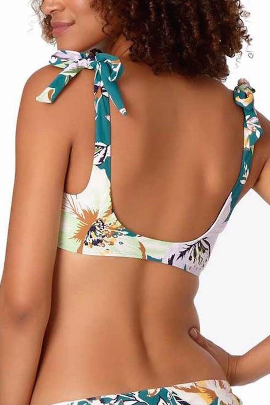 Anne Cole Tropical Bliss Top - Front Full Image