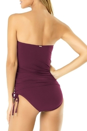 Anne Cole Twist Front Tankini Set - Front full body