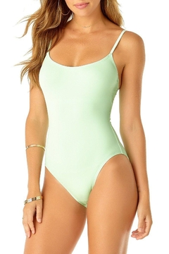 Anne Cole Vintage Green One-Piece - Product List Image