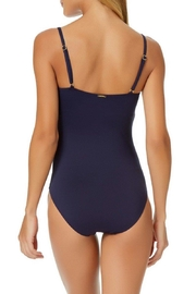 Anne Cole Signature Classic One-Piece Maillot - Front full body