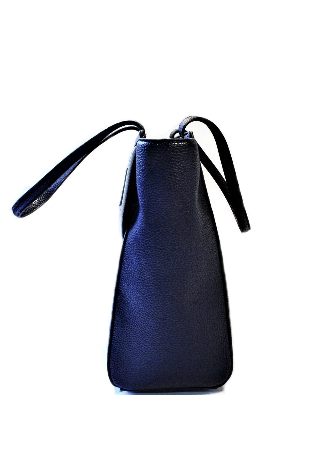 Anne Klein Navy Timeless Choice Bag - Side Cropped Image