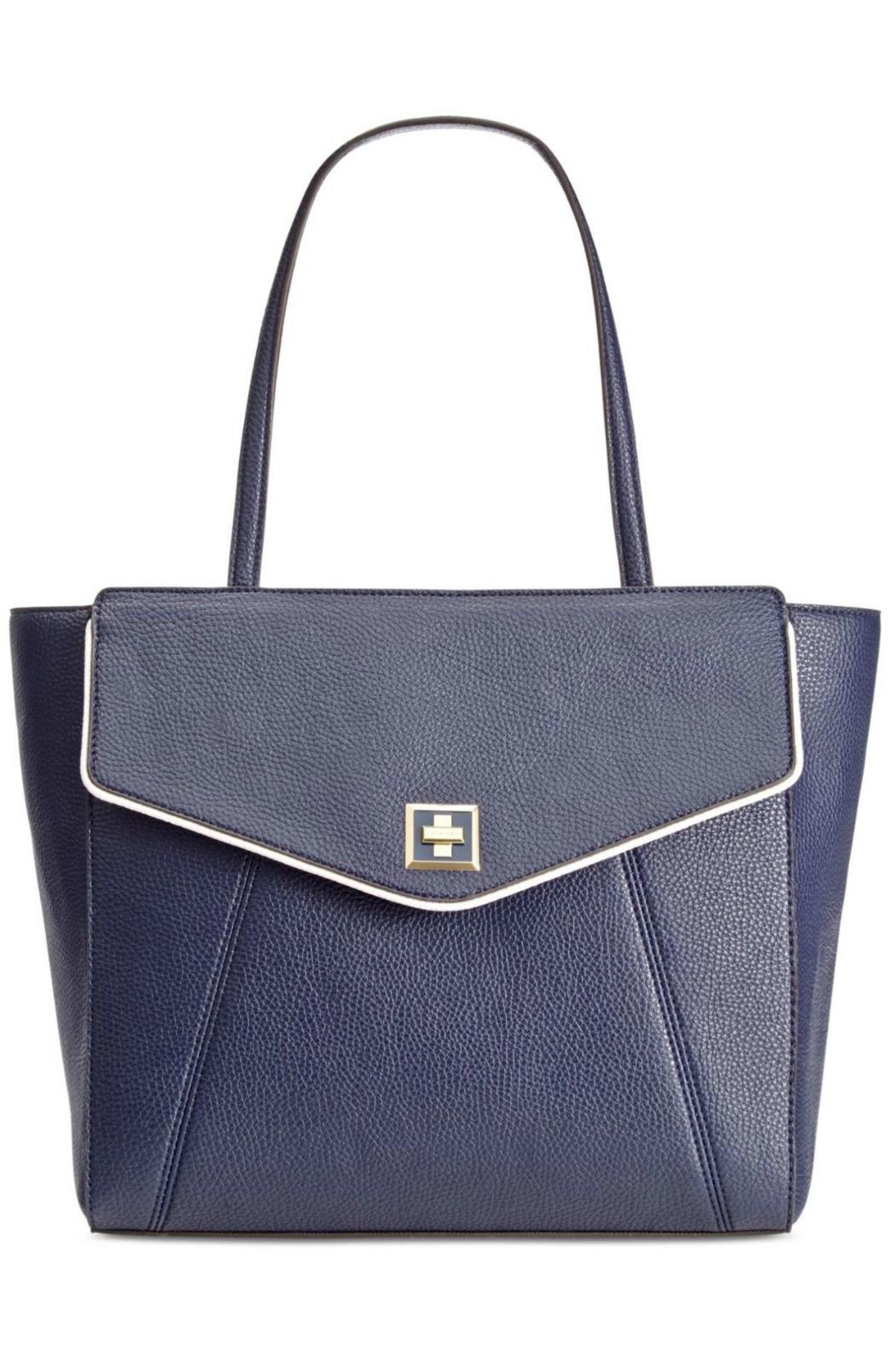 Anne Klein Navy Timeless Choice Bag - Main Image