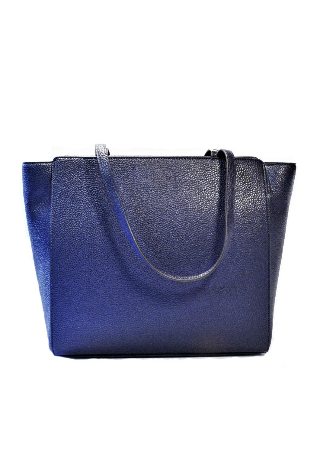 Anne Klein Navy Timeless Choice Bag - Front Full Image
