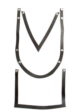 Shoptiques Product: Army Leather Necklace