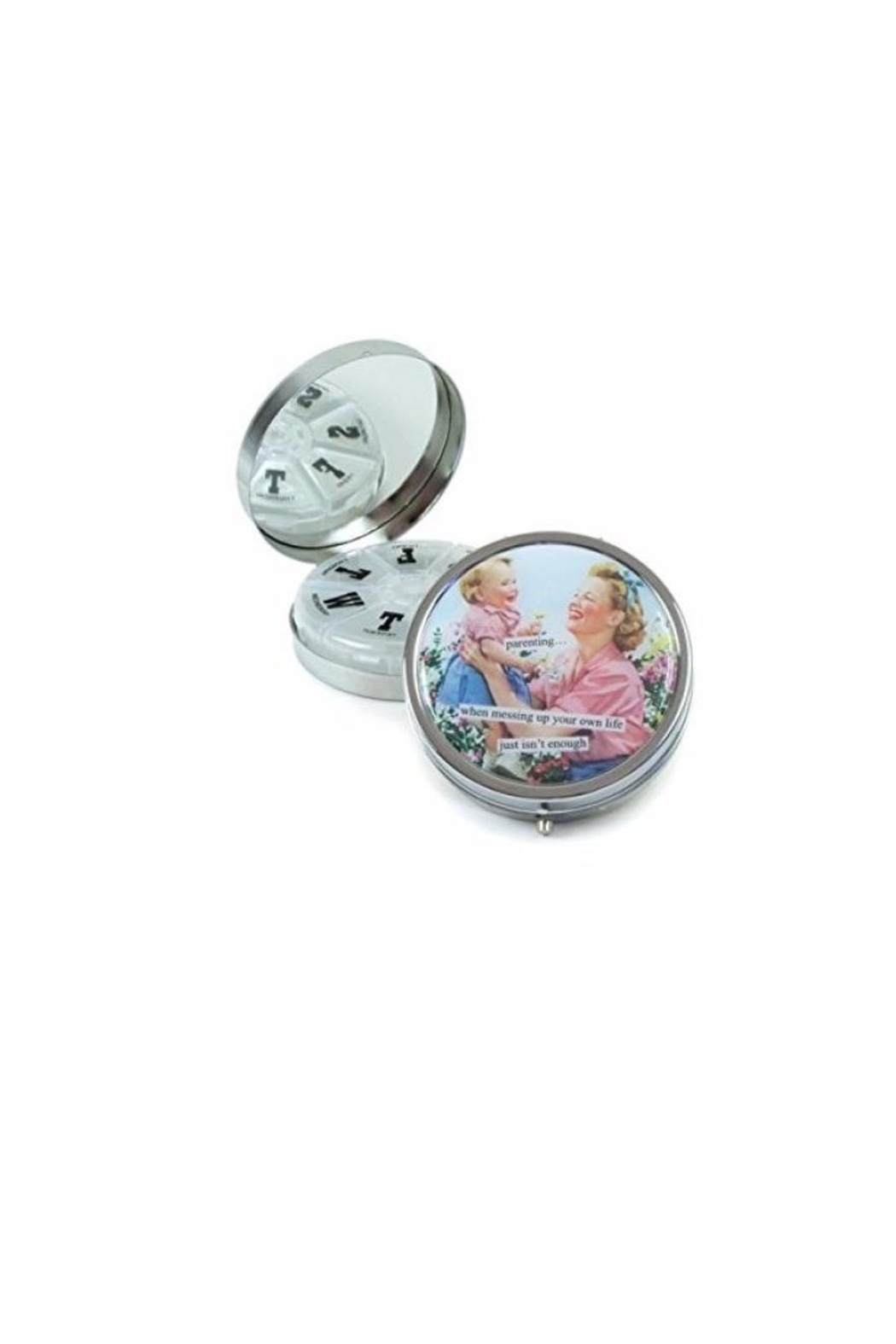 Anne Taintor Funny Pill Box - Front Full Image